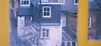 ロンドン 窓からの眺め