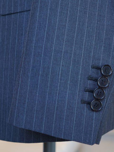 シングル2個ボタン JOHN GREENISH wool&mohair