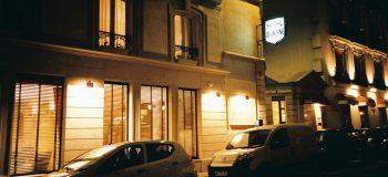 パリのホテル