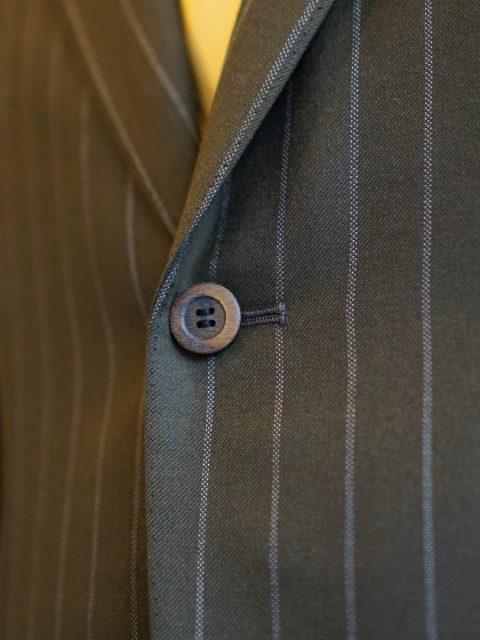 シングル2個ボタン wool100%