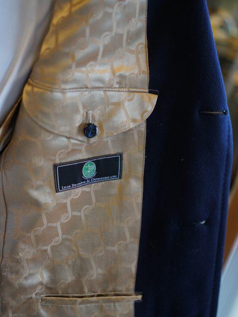 ハーフコート Lear Browne / wool100%