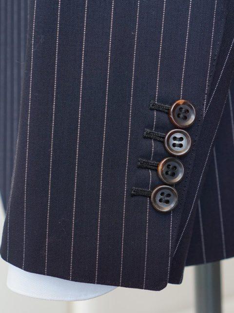 シングル2個ボタン スリーピース LoroPiana wool100%