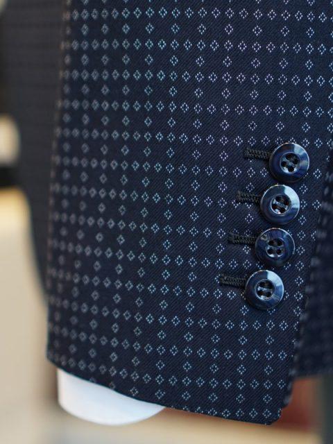シングル2個ボタン スリーピース GIVENCY wool 100%