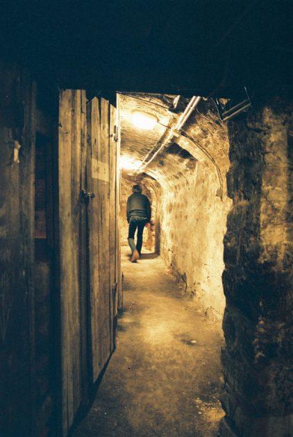 パリの地下