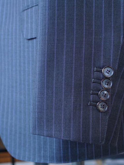 シングル2個ボタン E.Zegna