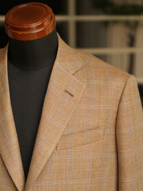 ジャケット wool&linen&silk  ARISTON