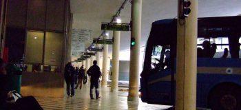 フィレンツェバス乗り場
