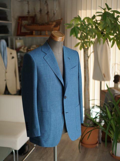 ジャケットwool&linen&silk E.Zegna
