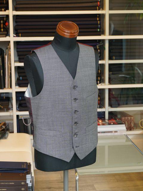 ベスト wool 100% SCABAL